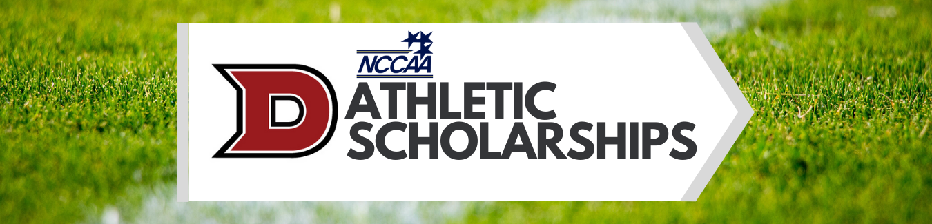 Athletic Scholarship Banner Dallas Christian College